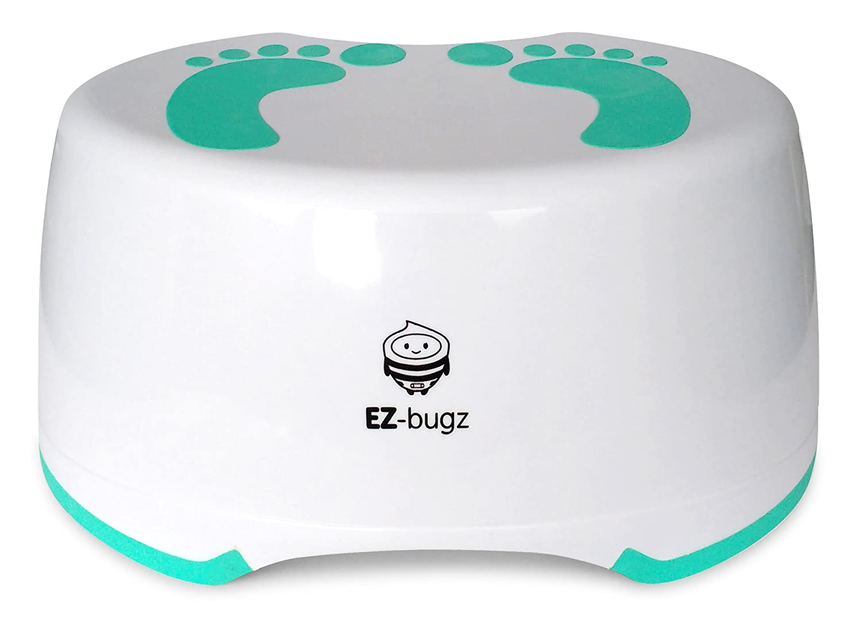 color lima y blanco Taburete infantil Hoppop 32130012 Monti