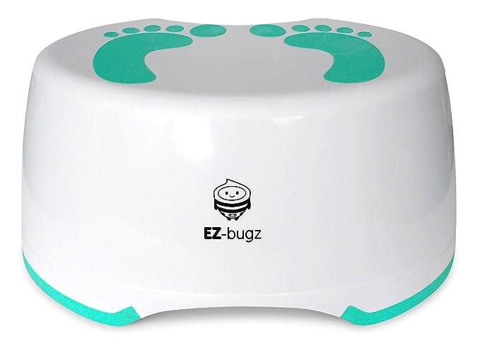 11 opinioni per Sgabello per bambini da EZ-Bugz, pedana antiscivolo per bagno. Solida, stabile e
