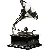 Nostalgia Registros gramófono gramófono Embudo Estilo Antiguo gramófono