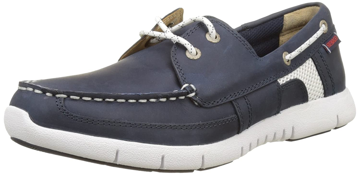 Sebago Kinsley Two Eye, Náuticos para Hombre, Azul (Navy Leather), 41.5 EU: Amazon.es: Zapatos y complementos