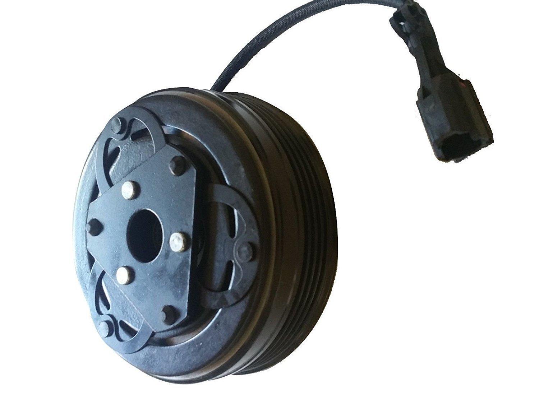 2013 Subaru XV Crosstrek 4 CYL 2.0L DKV10R AC A/C Compressor Clutch Kit (PULLEY, BEARING, COIL, PLATE) CoolTech