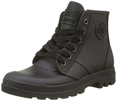 Palladium Pampa Hi Rain U, Baskets Hautes Mixte Adulte, (Black), 40 EU