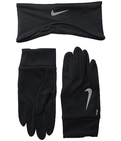 Amazon.com  Nike Dri-Fit Men s Running Headband Glove Set (Medium ... 7e9cb6cb730