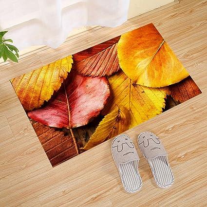 amazon com fannee october autumn leaves border abstract