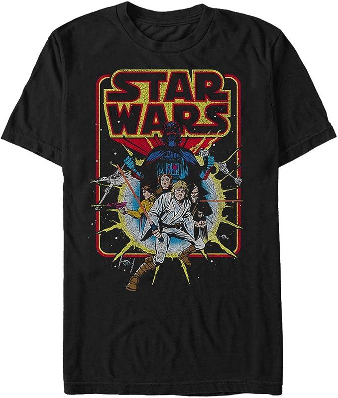 Amazon.com: Star Wars Men's Old School Comic