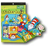 Dr Seuss Green Eggs and Ham Deluxe School and Activity Set - Stickers and Bookmarks
