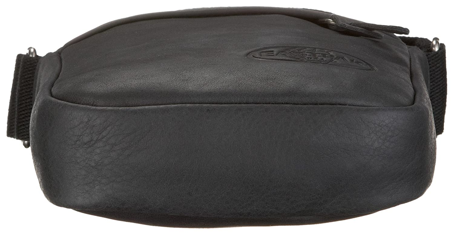 Leather Color 5414709144104 Negro Bolso THE Eastpak ONE Diseño bandolera qwXTqOBa