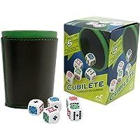 Novelty Cubilete 5 Dados de Poker