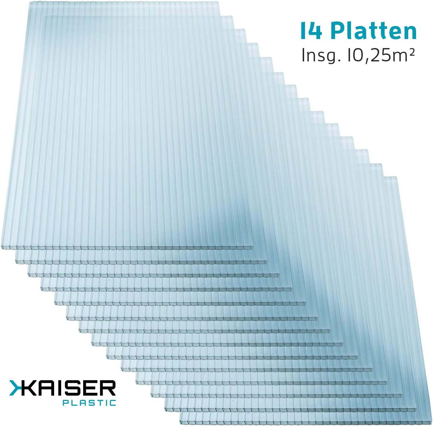 Kaiser Plastic/® Xtra-Strong Greenhouse Plates Various Sizes