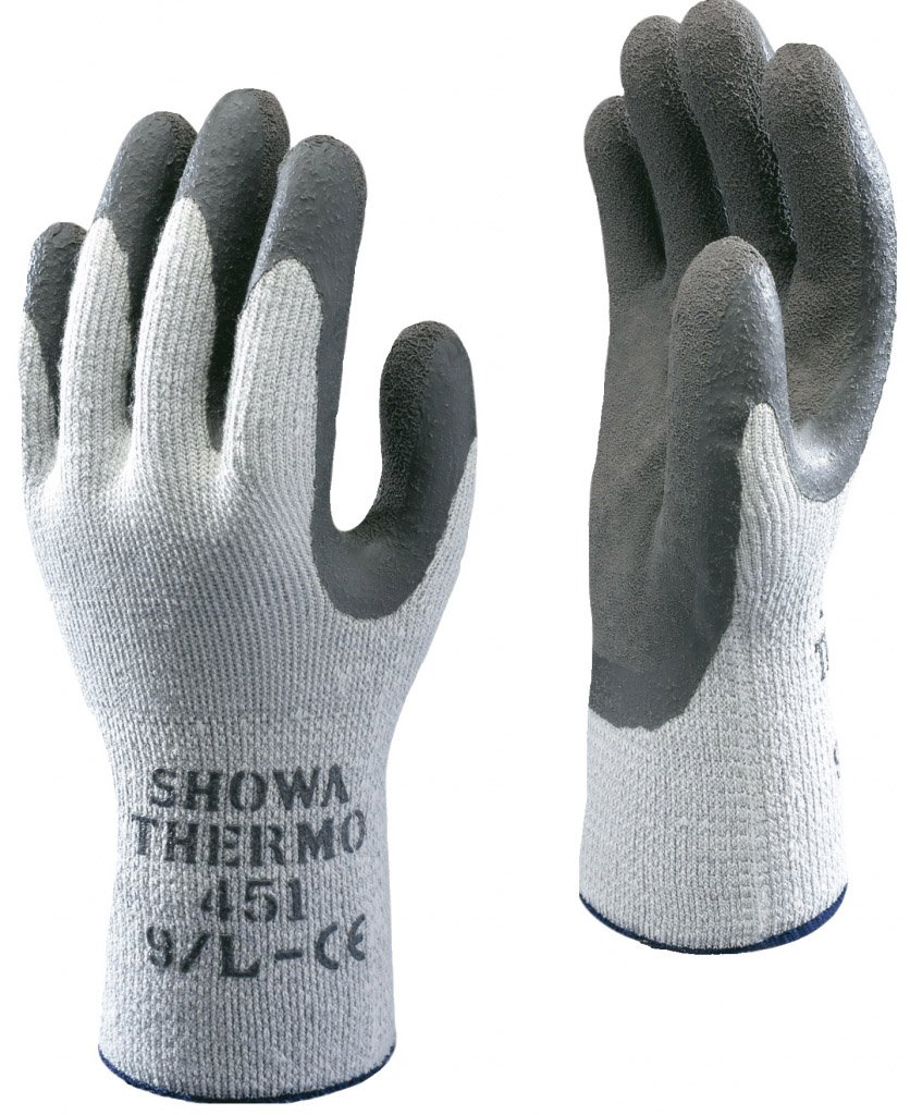 SHOWA 451 Thermo Grip Gloves Size L
