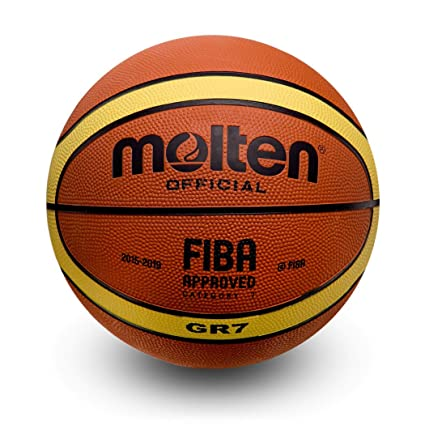 90df9da24660f3 Molten Basketball BGR7 Official Size 7 FIBA Approved 2015-2019, Approved. (7