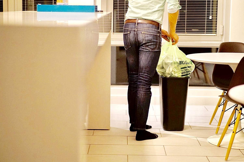 Reli. Biostar - Bolsas biodegradables para basura, 13 galones ...