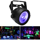 OPPSK Black Lights with 30W COB UV LED by RF Remote and DMX Control for Christmas Glow Party Stage Lighting