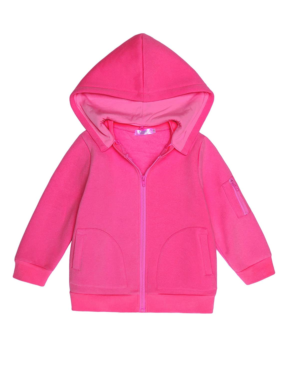 Ashiner Long Sleeve Zip-Up Hoodie Jacket for girls ASS005239