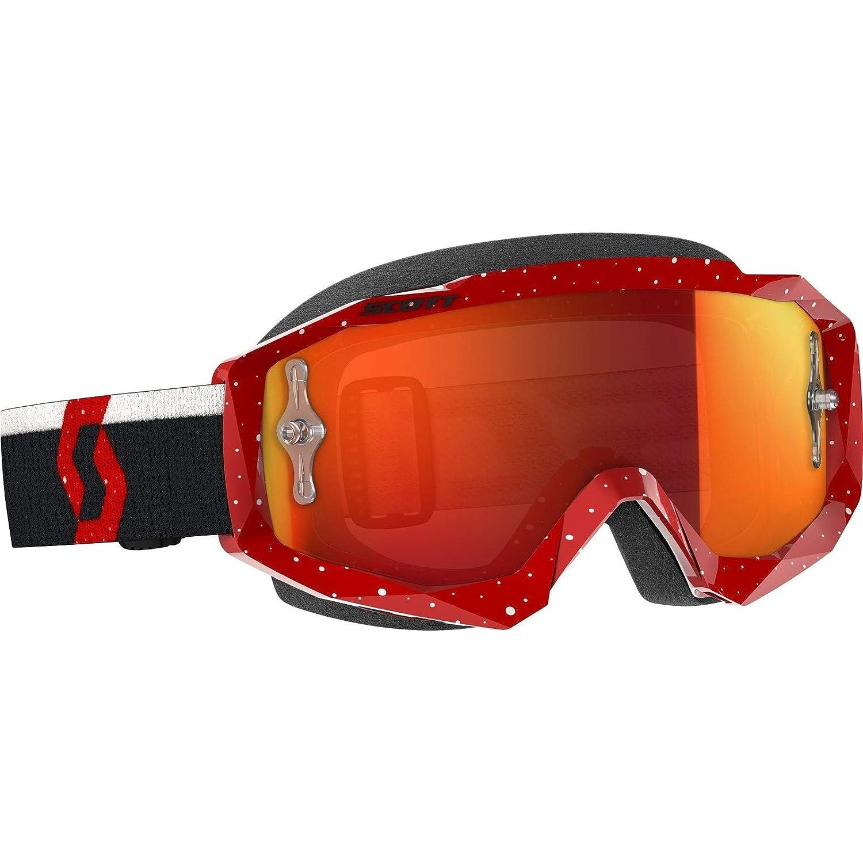 Scott Hustle X MX Goggle Cross//MTB Goggles Red//Clear Works