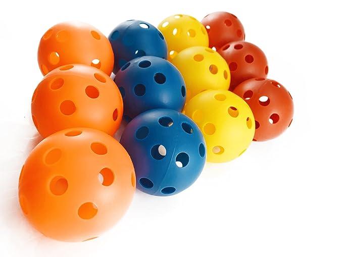 Amazon.com: nextnol 12 piezas hueca bolas, de plástico, de ...
