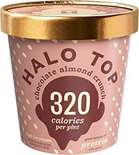 product image for Halo Top, Chocolate Almond Crunch Ice Cream, Pint (4 Count)