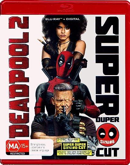 Deadpool 2 Dhd Theatrical Version Super Duper Cut Amazon Co Uk Dvd Blu Ray
