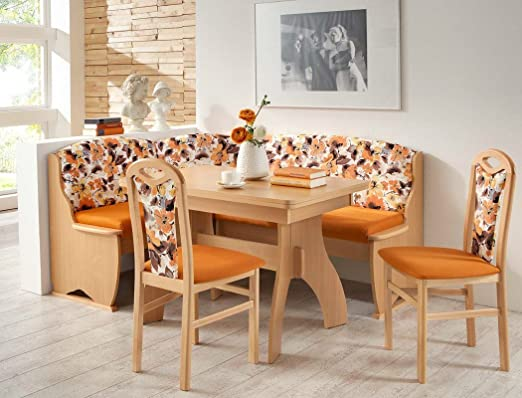 Rinconera de grupo Teresa 2 haya naranja floral especial para mesa ...