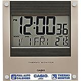 Casio Square Resin Digital Wall Clock (23.6 cmx22.1 cmx2.4 cm, Black, WCL38)