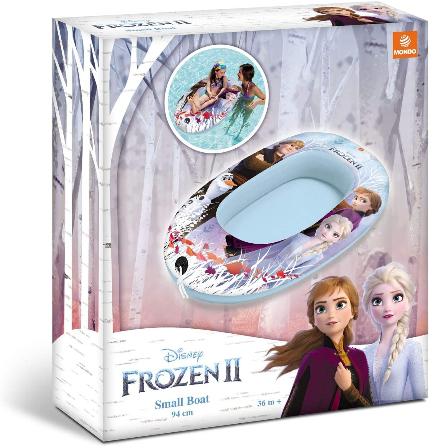 Mondo Frozen Barca Hinchable, 17.5 x 5.6 x 5.6 (16526): Amazon.es ...