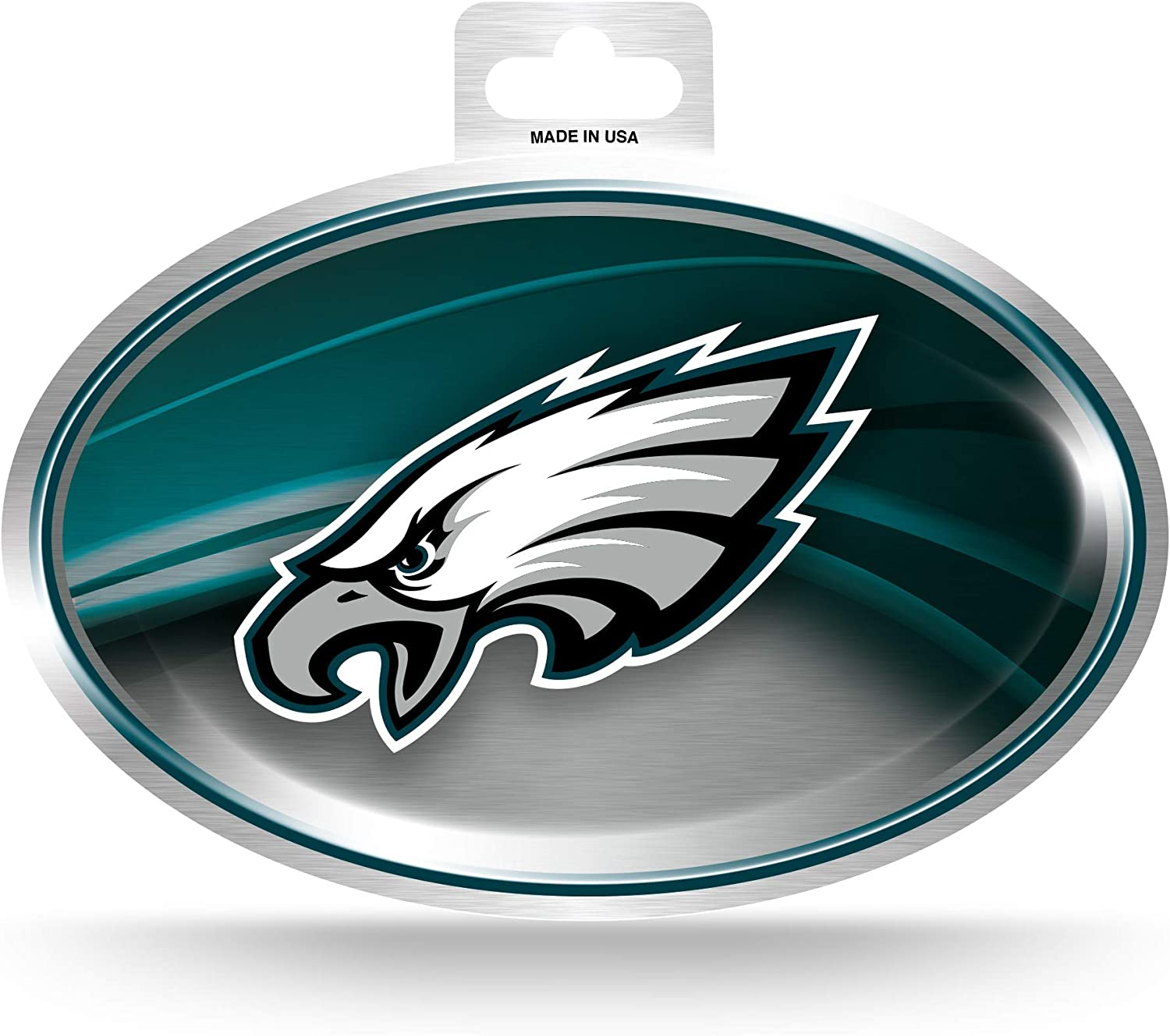 NFL Rico Industries  Metallic Team Logo Sticker Philadelphia Eagles