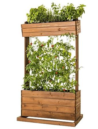 Hochbeet Holz Pflanztisch Pflanzbeet Krauter Beet Tomaten Rankhilfe