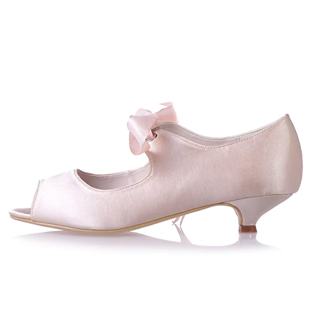 Mejor Prom La De Calidad Zapatos Mujeres Elobaby Toe Boda Peep 0XAAt8