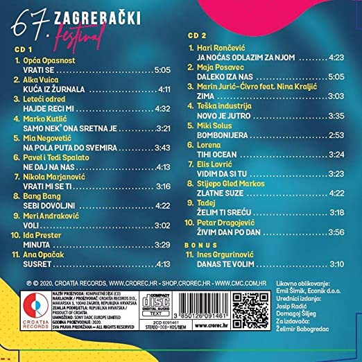 Various Artists 67 Zagrebacki Festival Amazon Com Music