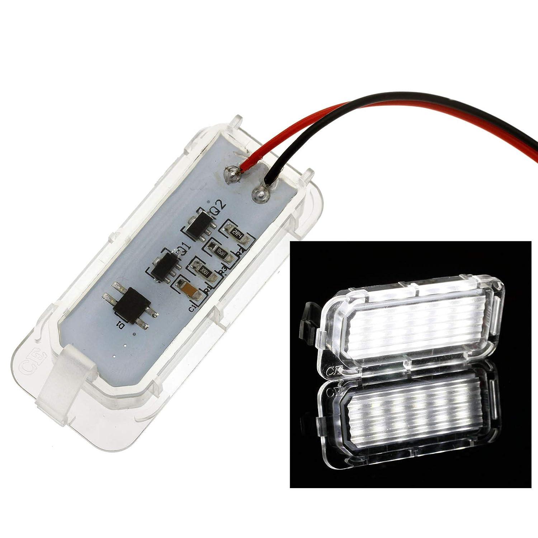 Create Idea 1PAAR Kennzeichenbeleuchtung LED Licht Nummernschild Gl/ühbirnen Nummernschildbeleuchtung Lampe