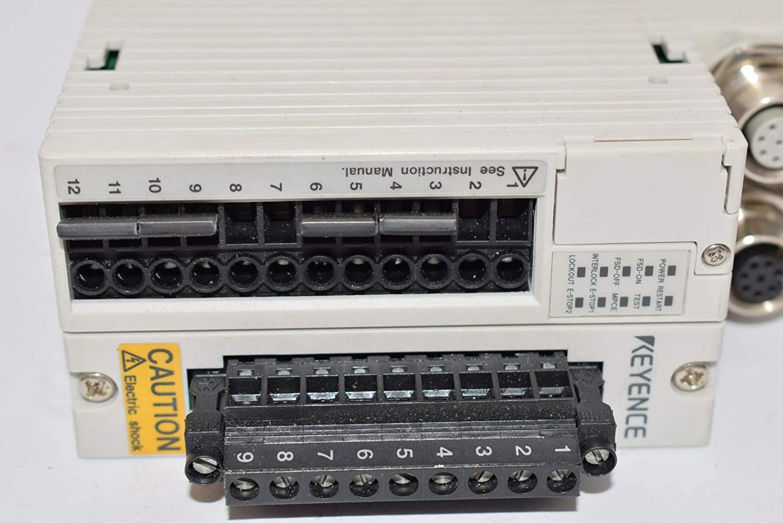 Keyence SL-R11 Light Curtain Safety Relay Unit 24VDC T17815