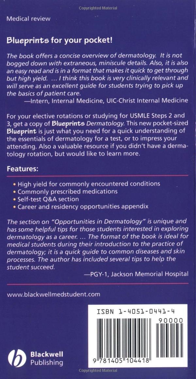 Dermatology: A Practical Guide (Blueprints Pockets): Amazon