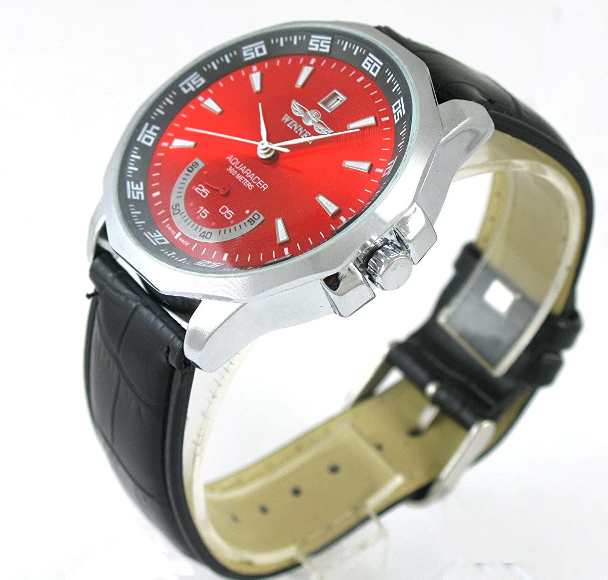 Vigorosoメンズ高級自動巻きムーブメントの手首腕時計 B00UTCT4NS