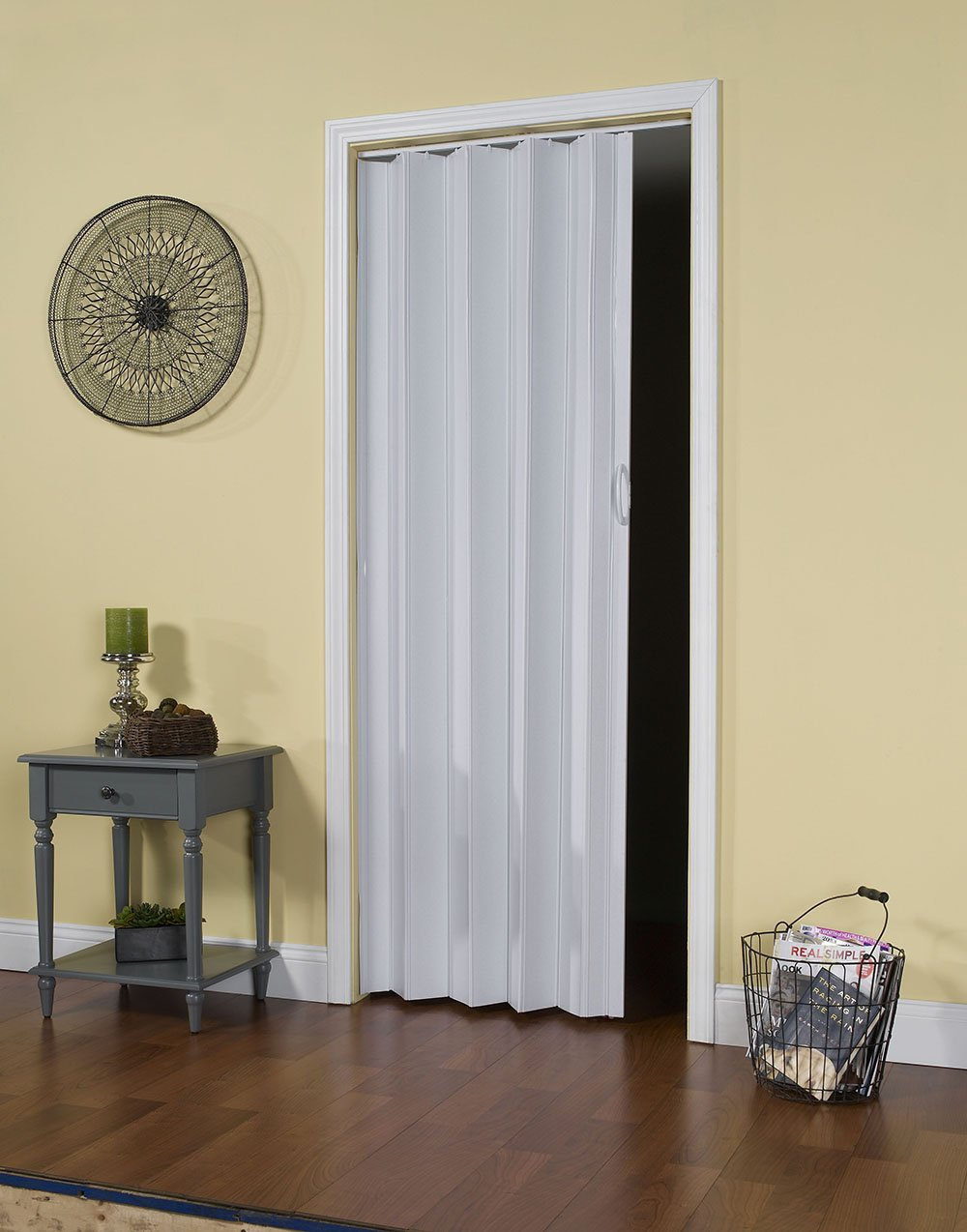 Spectrum CT3280T Contempra 24'' to 36'' x 80'' Accordion Folding Door, Sand White