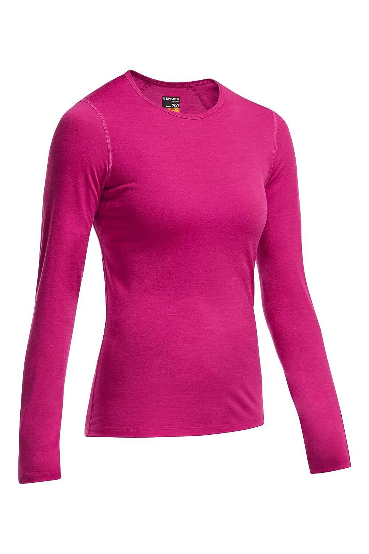 Icebreaker Damen Funktionsunterhemd Oasis Langarm Crewe