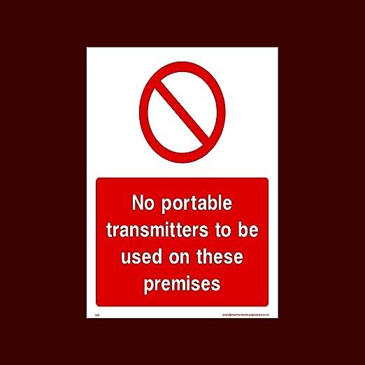USSP&S No portátil transmisor para ser Utilizado en Estos ...