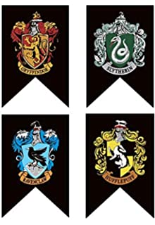 photograph about Printable Hogwarts House Crests identified as : Harry Potter Property Crests Wall Banner Present Fastened