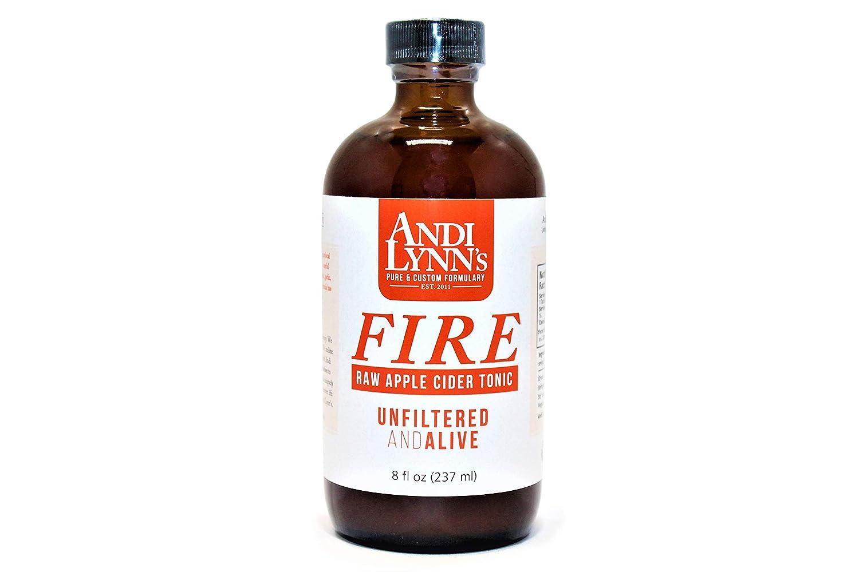 Andi Lynn's Apple Cider Vinegar Tonic - Original Flavor, Pure & Raw, Vegan Health Tonic, Not Heat Processed, Not Pasteurized, Paleo, Keto, 8 oz