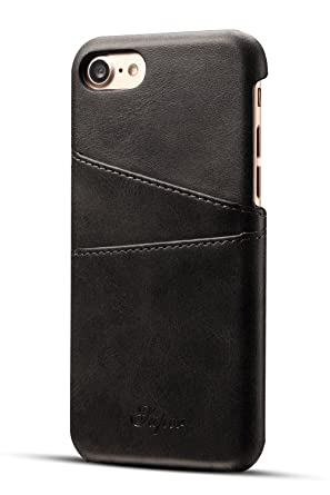 iphone 8 case card holder leather