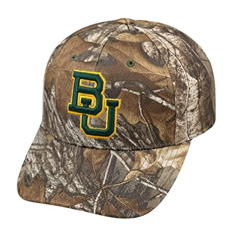 83e8790c69017 Image Unavailable. Image not available for. Color  Top of the World Baylor  Bears Tow Camo Realtree Xtra ...