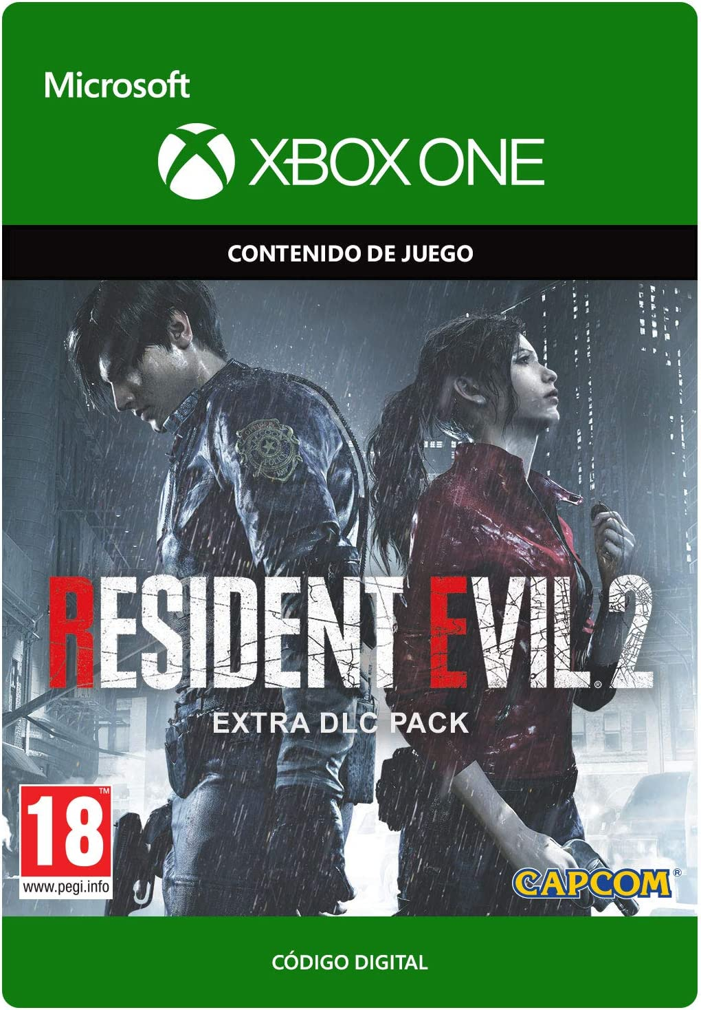 Resident Evil 2 Extra DLC Pack | Xbox One - Código de descarga ...