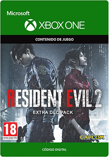 Resident Evil 2 Extra DLC Pack   Xbox One - Código de descarga ...