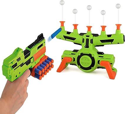 Floating Target Airshot Game Foam Dart Blaster Shooting Ball Toy Kids Gift