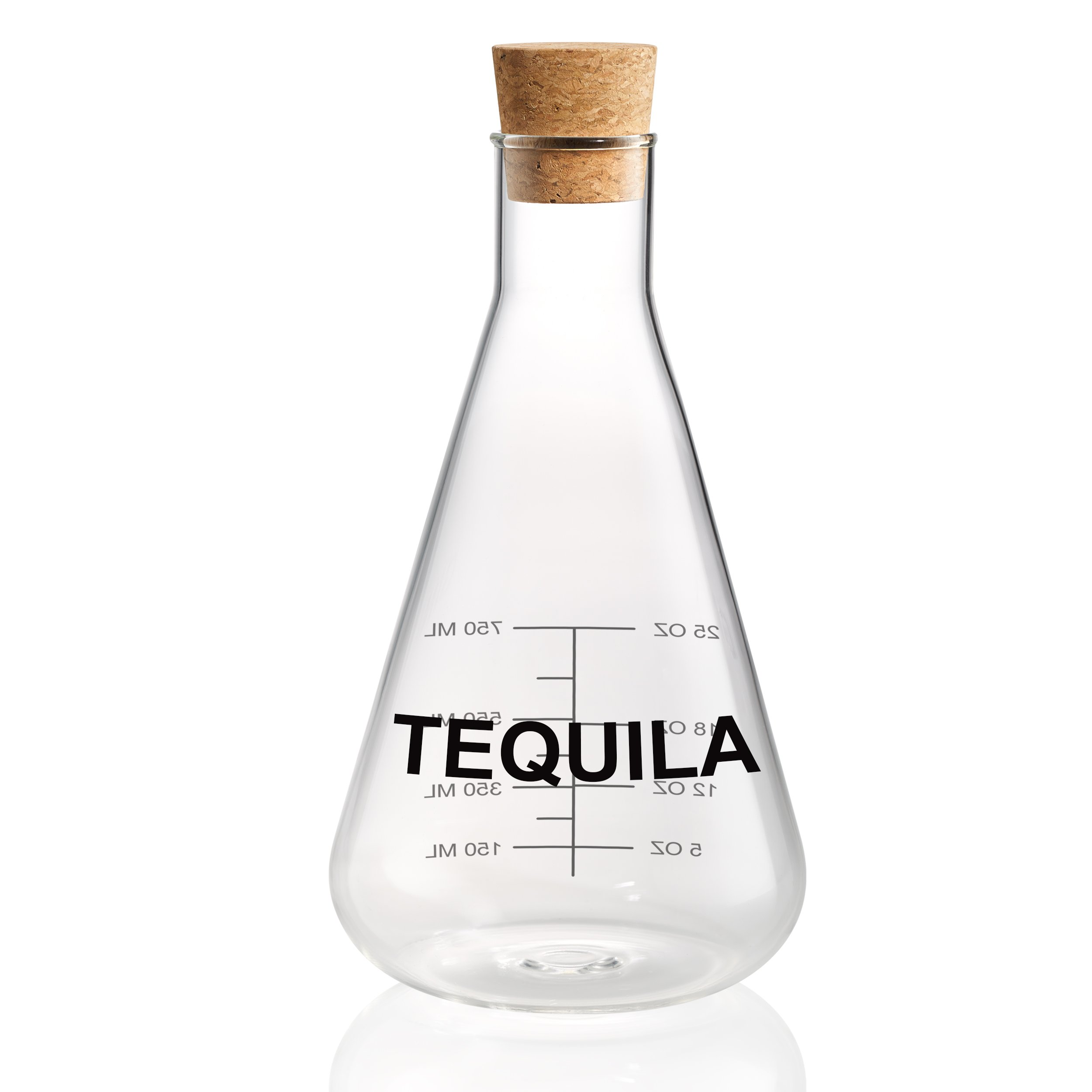 Artland Mixology Tequila Decanter in a Wood Crate Gift Box