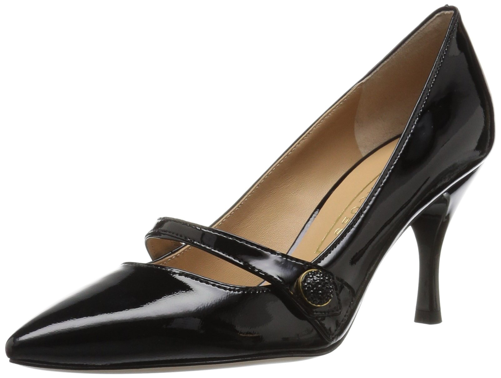 Marc Jacobs Women's Joslyn Pump, Black, 40.5 M EU (10.5 US)
