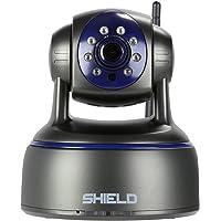 SHIELDeye RSCM-13101B Full HD RJ45 1080P Day & Night Wireless IP Camera with 2-Way Audio, Pan & Tilt, and One-Key Wi-Fi