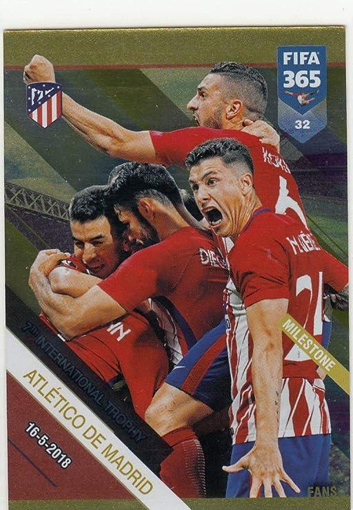 Panini Fifa 365 2019-Atlético de Madrid-Shirt Atlético de Madrid-Nº 27