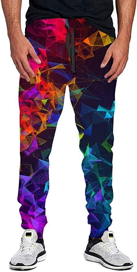 uideazone Unisex 3D Printed Sports Jogging Pants Mens Trousers Casual Sweatpants Gym Running Traning Pants Fashion Party Festival Pants for All Season