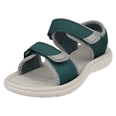 4de11e76ae Clarks Surfing Tide Kid Textile Sandals in: Amazon.co.uk: Shoes & Bags