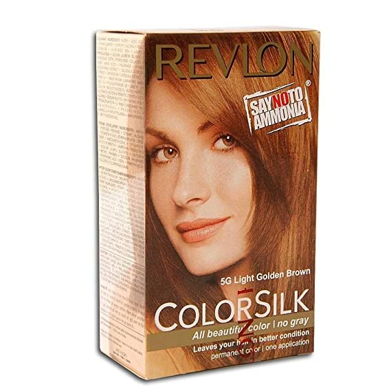 Buy Revlon Colorsilk Hair Color Light Golden Brown 5g 40ml Online